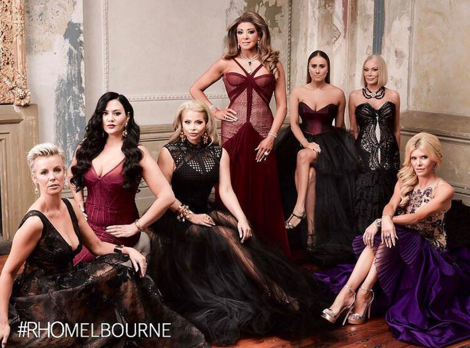 Gina Liano, Venus Behbahani Clark, Sally Bloomfield, Jackie Gillies, Lydia Schiavello,Gamble Breaux_Redki_Jewellery, RHOMelbourne_Redki_Jewellery, Foxel, Arena, RHOM, Real Housewives of Melbourne, OK Magazine