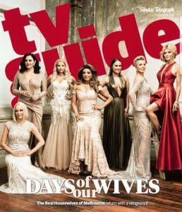 Gina Liano, Venus Behbahani Clark, Sally Bloomfield, Jackie Gillies, Lydia Schiavello,Gamble Breaux_Redki_Jewellery, RHOMelbourne_Redki_Jewellery, Foxel, Arena, RHOM, Real Housewives of Melbourne, Sun Herald, TV Guide