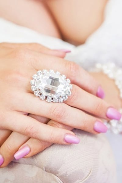 Must have Ring - Clear Crystal Ring