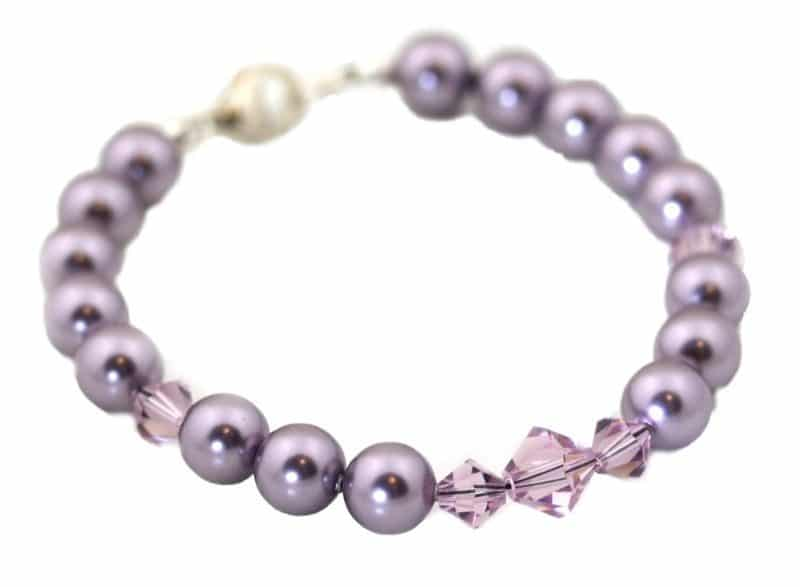 Silk Purple Bracelet