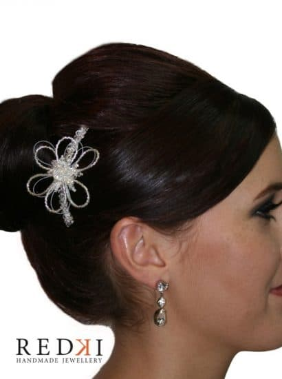 Tarnie Flower Crystal Hairpiece