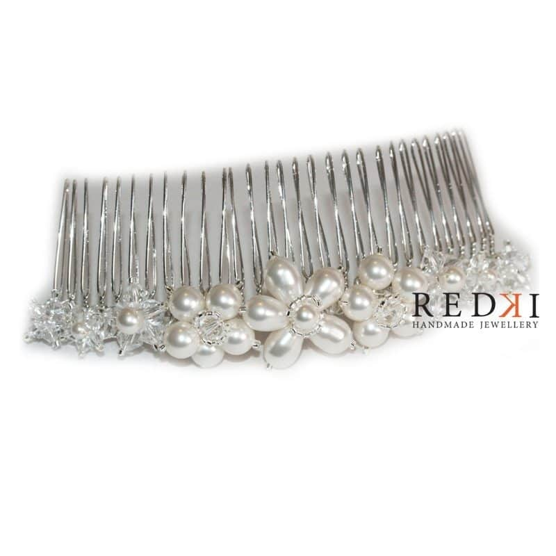 Bella Long Pearl Hairpiece