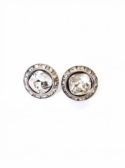 Charmed Crystal Studs clear