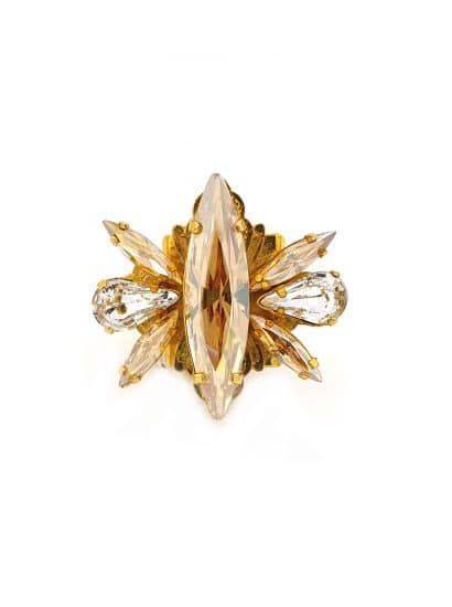 golden shadow marquee ring