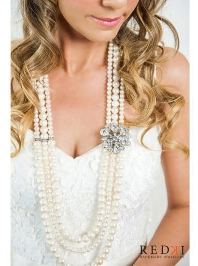 Muse Long Pearl Necklace