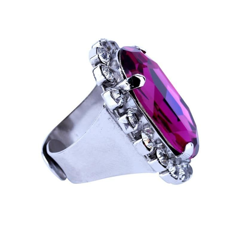 Must Have Ring - Pink Crystal Ring