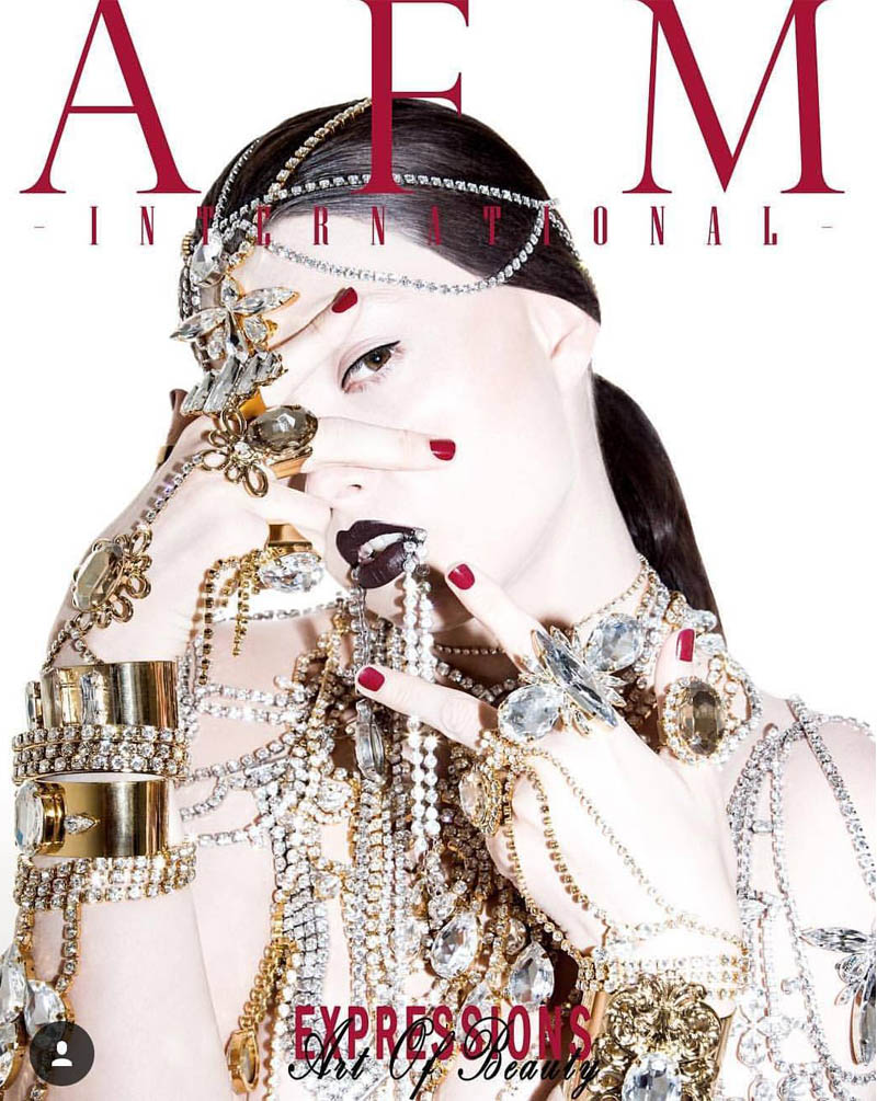 MAGAZINE COVER, Redki Jewellery, AFM Magazine, Alfa Fashion Magazine, Redki Couture Jewellery
