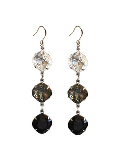 Clear black diamond black Swarovski Crystal Silver Metal, Fashion crystal earrings, Fashion earrings Australia, Fashion earrings Brisbane, Fashion earrings Sydney, Fashion earrings Melbourne, Fashion earrings vintage, Fashion earrings Melbourne, gold Fashion earrings, silver Fashion earrings, Swarovski crystal Fashion earrings, Fashion earrings online, statement Fashion earrings earrings, Fashion earrings gold crystal for bridesmaids, silver earrings for bridesmaids, modern Fashion earrings, custom made Swarovski crystal Fashion earrings, handcrafted Fashion earrings, plus size Fashion earrings, Fashion earrings swarovski crystal, Fashion earrings gold, bridal Fashion earrings after pay, Fashion earrings adelaide, Fashion earrings gold, Fashion earrings silver, Fashion earrings australia, Fashion earrings swarovski crystal, swarovski crystal Fashion earrings teardrop, swarovski crystal Fashion long drop earrings, handcrafted Fashion earrings, Brisbane Australia