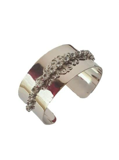 B080CL Nightfall cuff bracelet gold, Redki Couture Jewellery