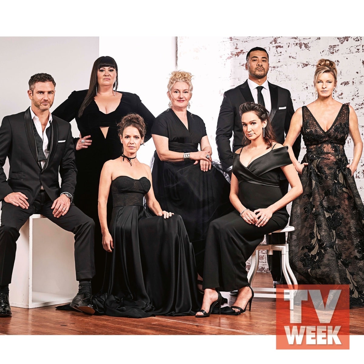 Tammy MacIntosh Congratulations to the amazing cast of Wentworth, in the photos are Celia Ireland, Sigrid Thornton, Katrina Milosevic, Kate Jenkinson, featured in TV Week photoshoot.